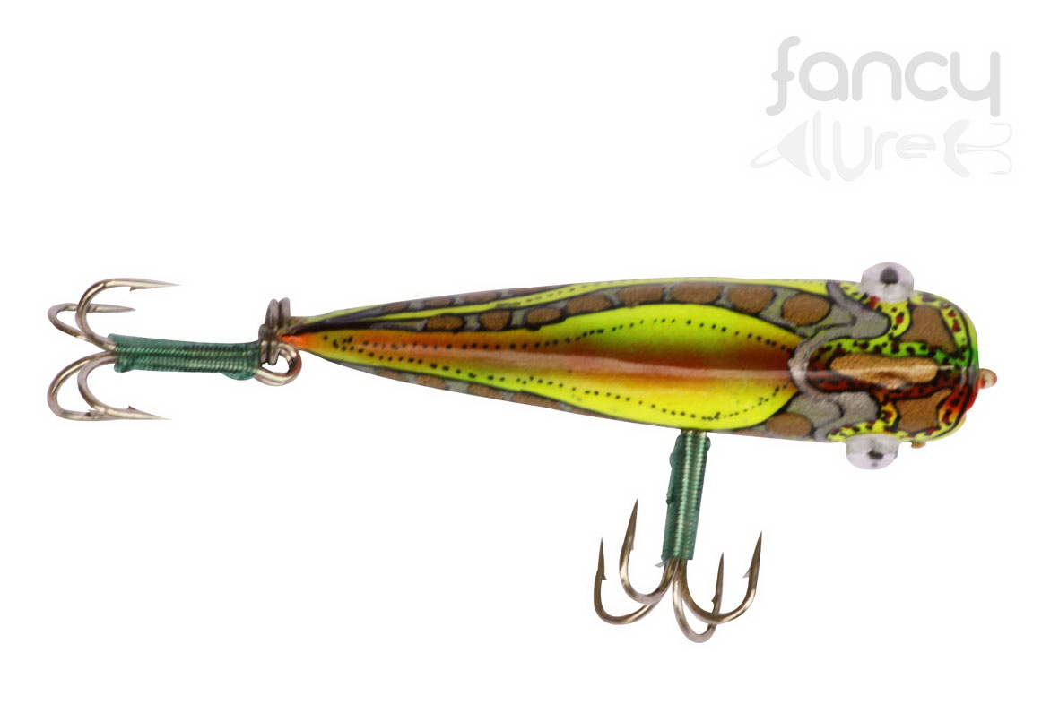 Topwater Lure Wooden fishing lures handmade lures